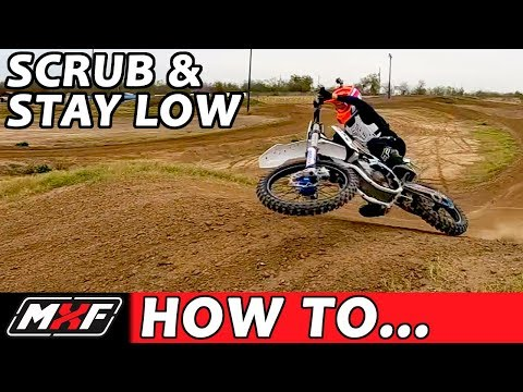 How To Scrub a Dirt Bike - Jump Low Like a Pro in 3 Steps!!