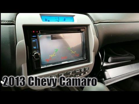 2013 Chevy Camaro Radio Removal