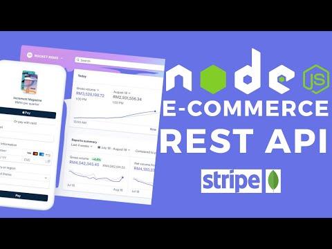 Node.js E-commerce App Rest Api With Mongodb   Shopping Api With Stripe & Jwt