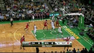 Derrick Rose & Boozer Highlights vs Celtics (12.3.10) [HD]
