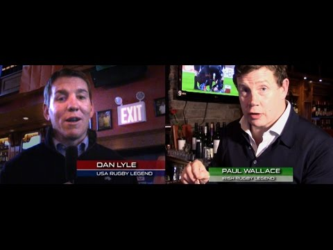 Rugby Pubs: Legends Dan Lyle & Paul Wallace like NYC's Pig N Whistle