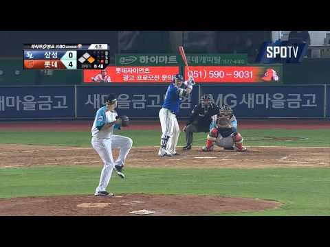 SP, Josh Lindblom (Lotte Giants) Complete Game vs. Samsung Lions 4/24/15