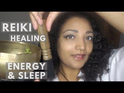 Reiki master performs sound healing, energy boost *sparkles your night *deep sleep ASMR roleplay