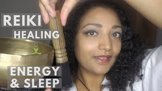 Reiki master performs sound healing, energy boost *sparkles your night *deep sleep ASMR roleplay