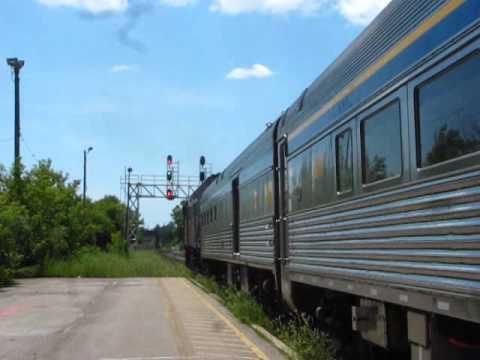 Railfanning in Belleville Ontario on July 3RD 2011.