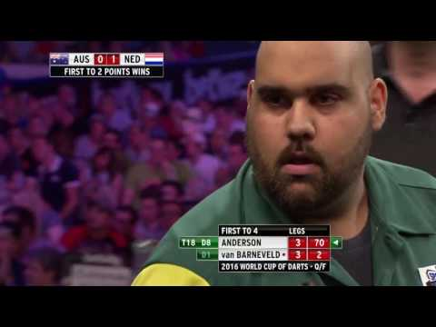 WHAT A TIE! Two nine-dart attempts in Australia v The Netherlands thriller