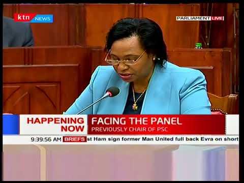 Nominated Cabinet Secretaries' vetting: Professor Margaret Kobia