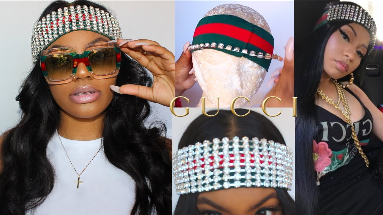 Gucci Crystal-embellished HEADBAND FOR THE LOW LOW - YouTube 57d696990e3