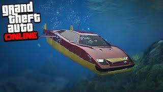 GTA Online - SUBMARINE SUPER CAR (8,000,000 Spending Spree)