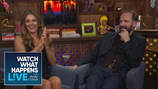 Andy talks to Ralph Fiennes & Elizabeth Hurley about Manscaping | WWHL