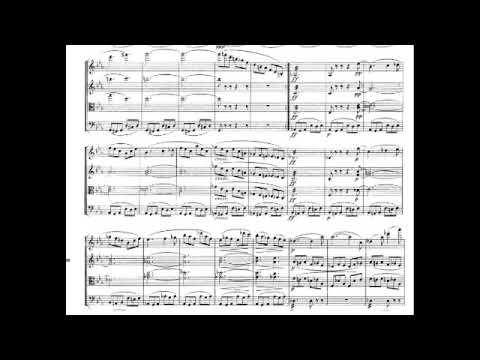 Franz Schubert Quartettsatz  with score - Movement for String Quartet Deutsch 703 in C minor