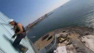 Промышленный альпинизм, 60 метров, Владивосток(, 2012-06-30T06:24:17.000Z)