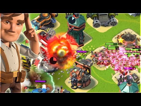 This Damage is INSANE!! Boom Beach ALL ZOOKA Attack Strategy!!