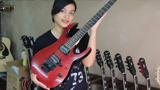REVIEW GITAR IBANEZ RG SERIES MERAH