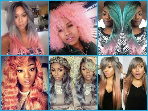Pastel Hair Color Ideas For Black Women 2017 Hair Trends