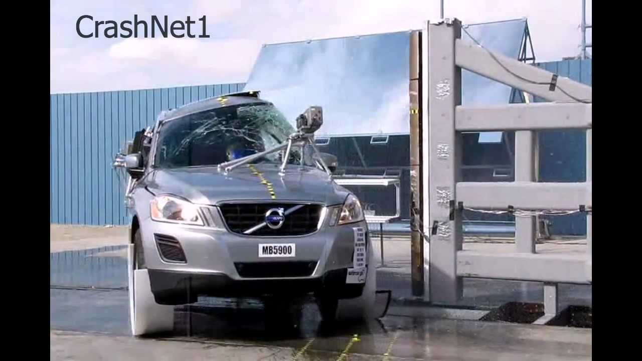 Volvo XC60 | 2011 | NCAP Pole Crash Test by NHTSA | High ...