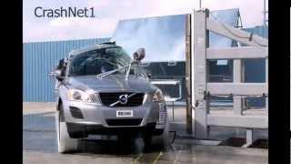 Volvo XC60 | 2011 | NCAP Pole Crash Test by NHTSA | High Speed Camera | CrashNet1