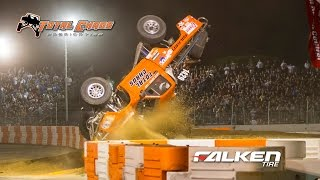 Dan Vance Crash at Stadium Super Trucks 1400 race