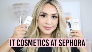 IT COSMETICS AT SEPHORA!? REVIEW & DEMO OF ENTIRE LINE!
