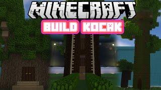 Minecraft Indonesia - Build Kocak (6) - Rumah Pohon Kribo!