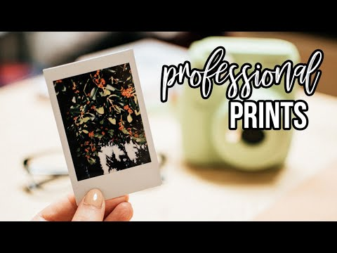 Professional prints with WHCC printing lab