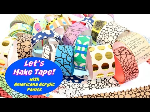 How To Make Your Own Decorative Tape