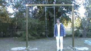 Easy Diy Swing Set