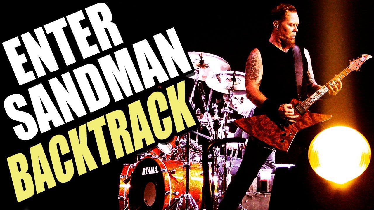 Metallica   Backing Track Brasil