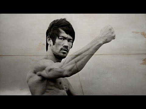 Bruce Lee's interesting body