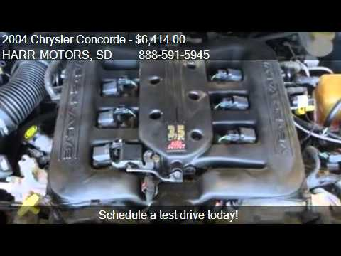 2004 Chrysler Concorde Limited For Sale In Aberdeen Sd