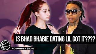 is Bhad Bhabie dating Lil Gotit????