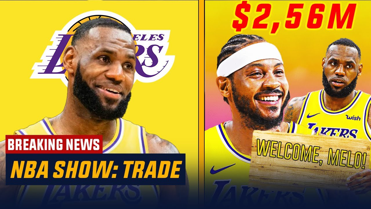 NBA free agency 2021: Carmelo Anthony joins forces with LeBron ...