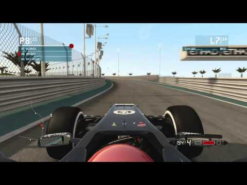 F1 2013: Career Mode Part 17: Abu Dhabi (inc. Setup)
