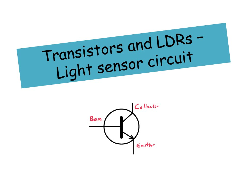 Light Sensor Circuit Using 741 Comparator Youtube