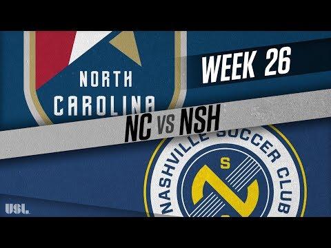 North Carolina FC vs Nashville SC: September 8, 2018
