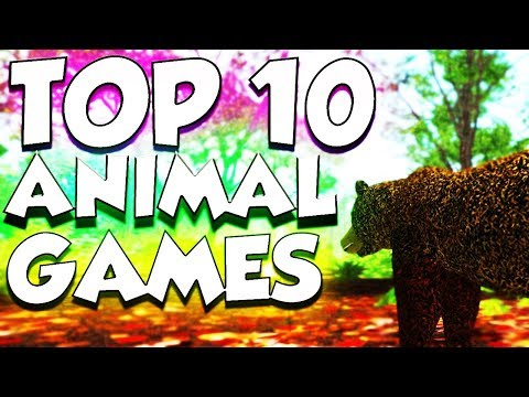 Top 10 Animal Games On Roblox 2018 Gameplay Youtube