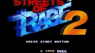 Streets of Rage 2 - Sega Megadrive collection - stages 4 to 6 - PS3 Gaming - No Commentary