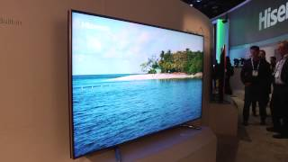 CES 2014: Hisense 4K Ultra HD LED LCD TVs and OLED TVs