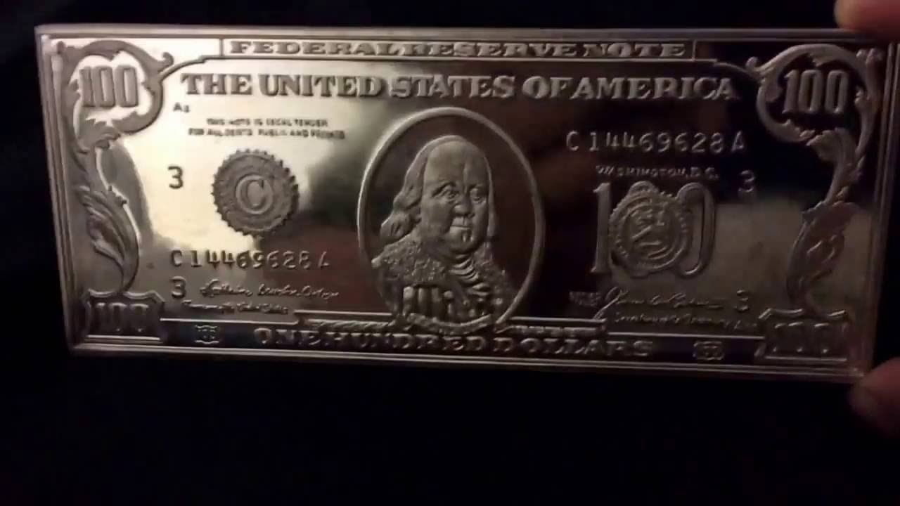 Rare 1 Troy Pound 100 Silver Art Bar Youtube