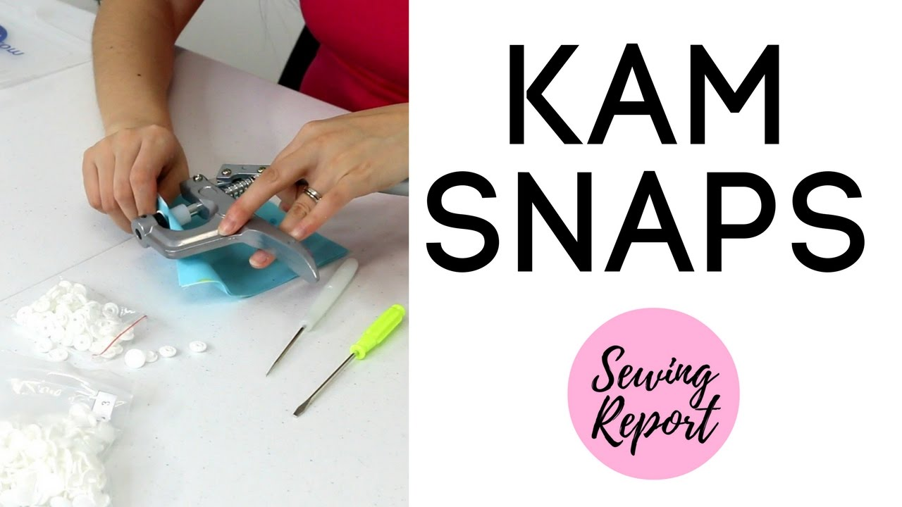 KAM SNAPS PLIERS / SNAP SETTER TOOL   Review & Tutorial   SEWING REPORT