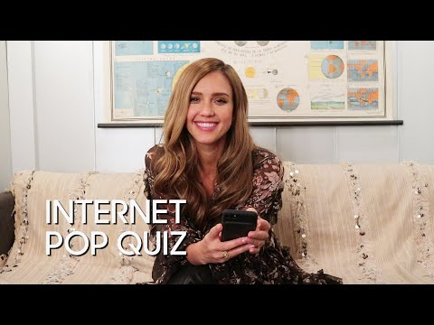 Internet Pop Quiz: Jessica Alba