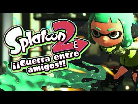 SPLATOON 2: ¡GUERRA ENTRE AMIGOS! | Nintendo Switch.