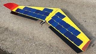 SOLAR powered Plane / Drone /  FPV / Build / RC Aircraft
