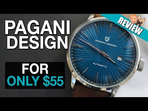 Automatic Pagani Design Watch for $55 - Review [Seiko Presage Cocktail time Homage]