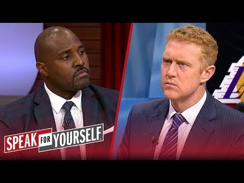 Brian Scalabrine thinks the 'virus' with the Lakers is the LeBron effect | NBA | SPEAK FOR YOURSELF