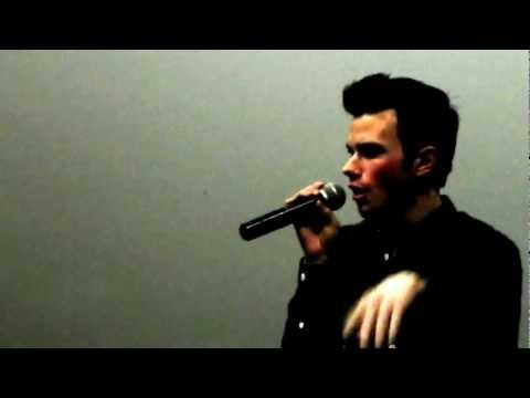 Chris Colfer Struck By Lightning Q & A in NYC part 1