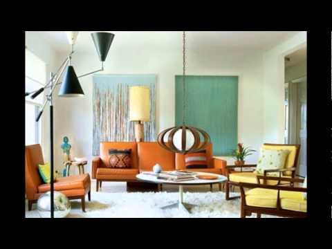 Дизайн интерьера в стиле 60-х годов