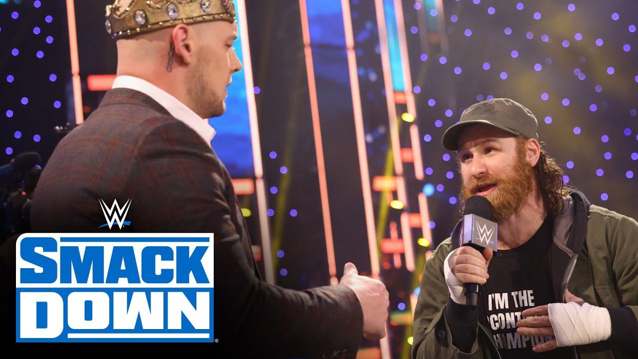 Zayn and Corbin fight over Big E's Intercontinental Title Open Challenge: SmackDown, March 12, 2020