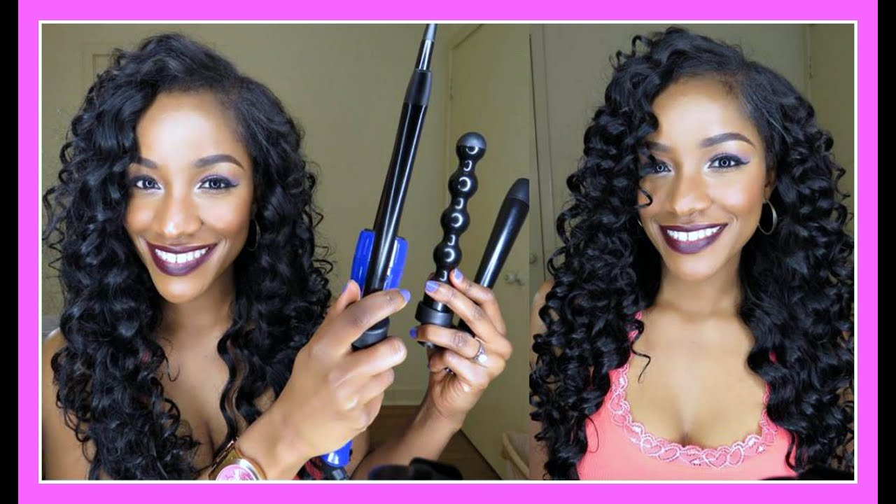 8 Curling Wand Sizes In One Set Irresistible Me Sapphire