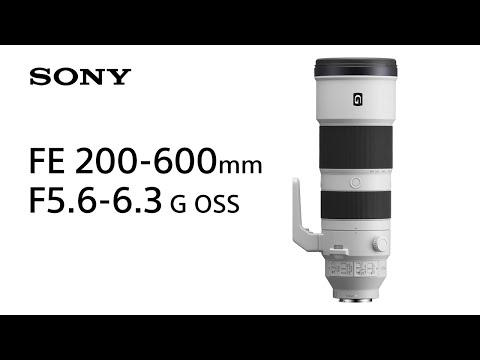 Sony 600mmまでカバーする超望遠レンズ2種発表!FE 200-600mm F5.6-6.3 G OSS/FE 600mm F4 GM OSS。6月18日予約開始7月発売!カメラ/レンズ最新情報2019年6月